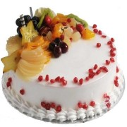 Mixed Fruit Magic Cake