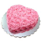 Pink_Flower_Heart_Cake