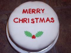 round-xmas-cake