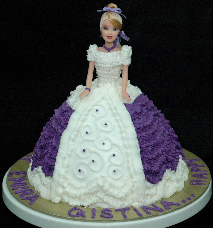 Images Of A Barbie Cake : Fairy Barbie Cake   2kgs Online cake delivery in Hyderabad