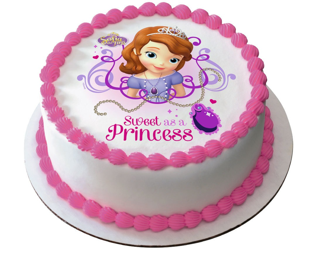 Round Shaped Sofia Photo Cake   1.5kg Online cake ...