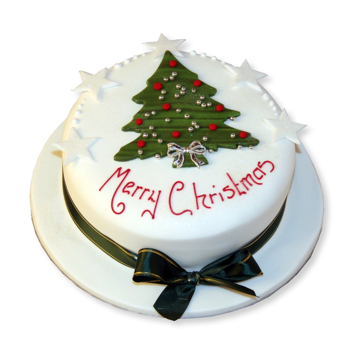 Christmas Cake Design 2018 : Christmas Tree cake   1.5kg Online cake delivery in ...
