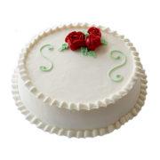 Red rose cream cake coolcake.in